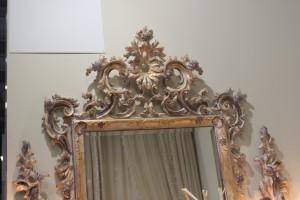Зеркало резное