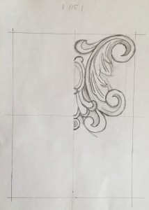 Декор рисованный (капитель)