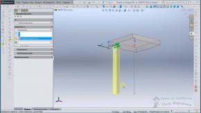 Табурет в SolidWorks