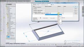Уравнения в SolidWorks