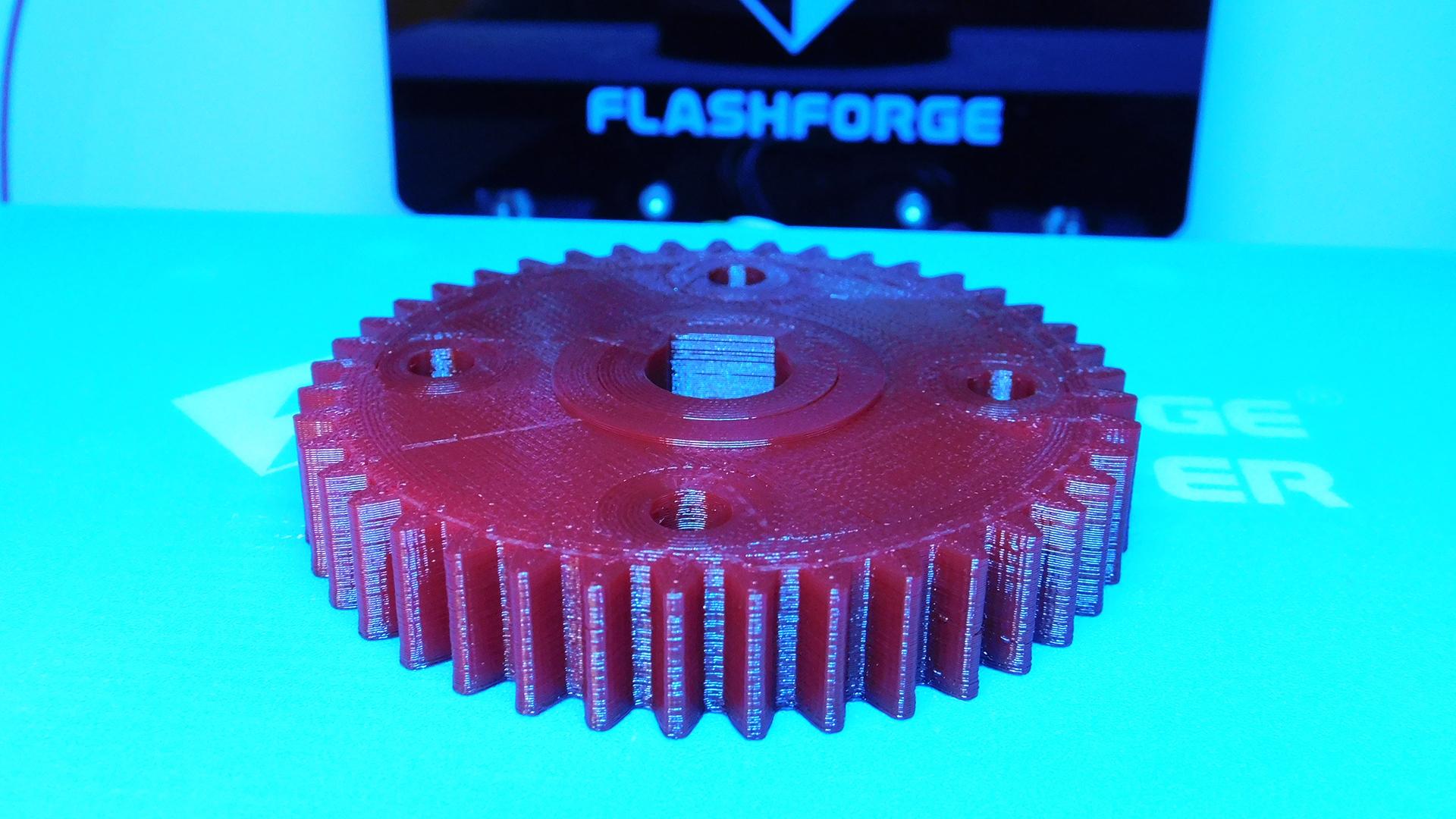 3d-печать зубчатого колеса