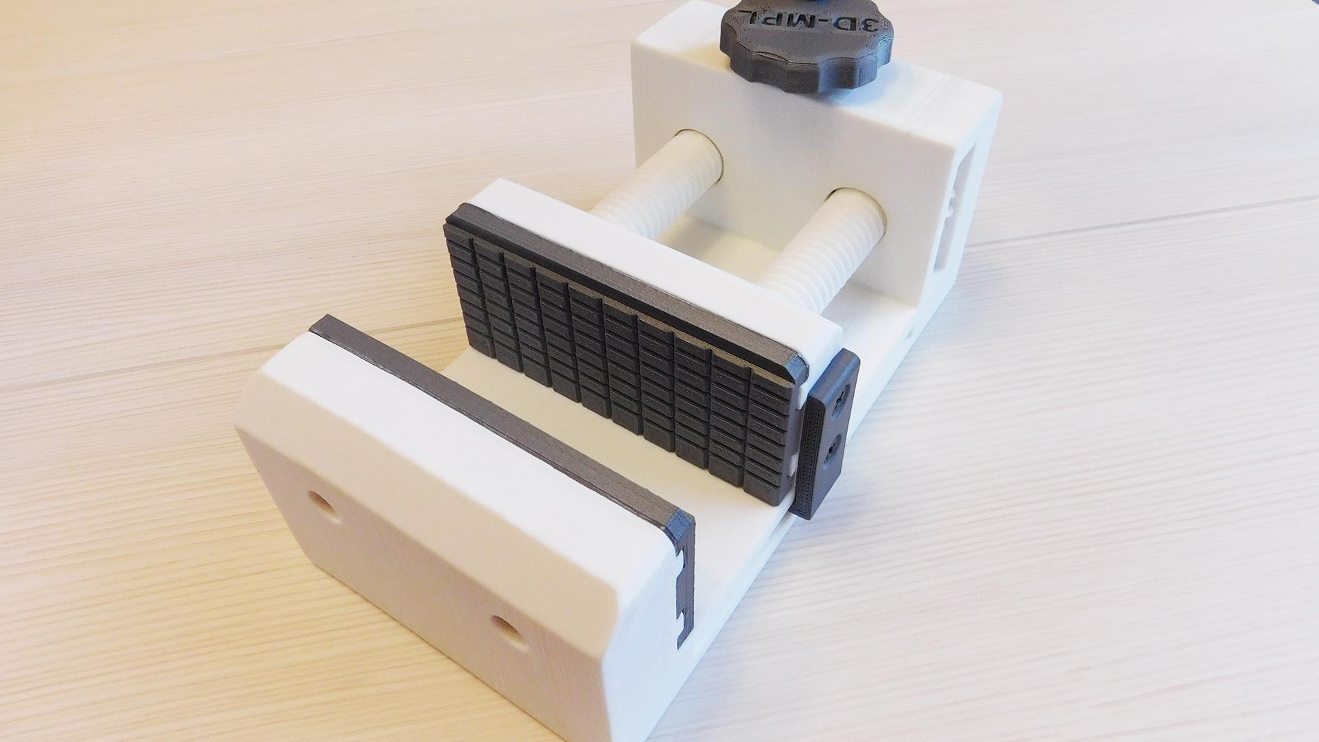 Тиски механические v2.0. 3D-печать
