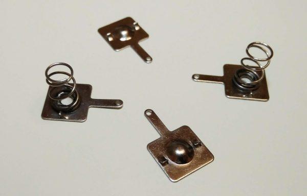 Пружинки и пластины для батареек АА и ААА